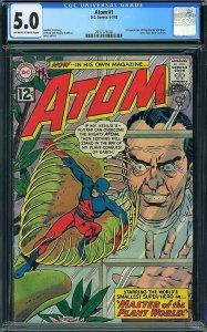 Atom #1 (DC, 1962) CGC 5.0