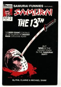 Samurai Funnies #2 First Jason Vorhees in comics 1987