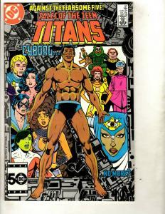 Lot of 7 Teen Titan DC Comic Books 57 58 59 60 61 65 66 Batman Joker JF10