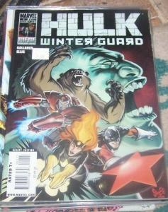 Hulk - winter guard #1  2010 marvel one shot  russia darkstar