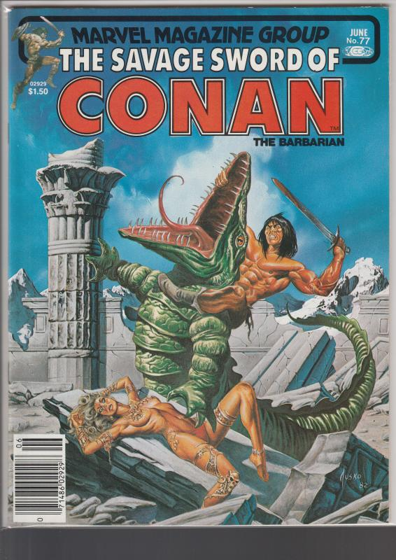 Savage Sword of Conan #77