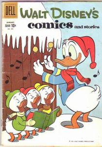 Comics and Stories, Walt Disney's #232 (Jan-60) VG Affordable-Grade Donald Du...