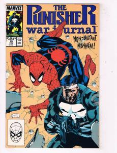 Punisher War Journal #15Marvel Comic Book with Spider-Man Jim Lee Cover HH1