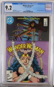 WONDER WOMAN  #9 (DC,10/87) CGC 9.2 New Cheetah Origin