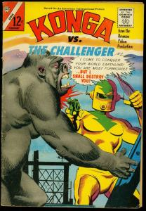 Kong #21 1965- Charlton Comics- The Challenger VG