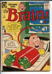 THE BRAIN #7-1958-ME COMICS-BIZARRE HUMOR-RARE ISSUE-pr