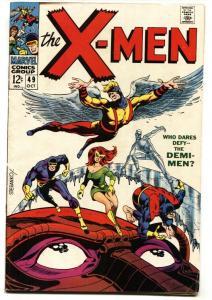 X-MEN-#49-1st POLARIS-comic book-STERANKO COVER VG+