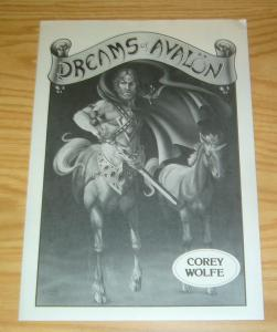 Dreams of Avalon Portfolio by Corey Wolfe - signed & numbered (1,091 of 1,200)
