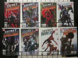 SECRET INVASION (2008) 1-8  COMPLETE! COMICS BOOK