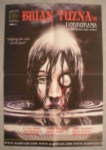HORRORAMA Promo Poster, Brian Yuzna, 13x19, Unused, more Promos in store