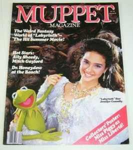 Muppet Magazine #15 summer 1986 jennifer connelly - labyrinth behind the scenes