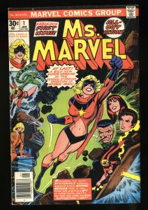 Ms. Marvel #1 VG+ 4.5