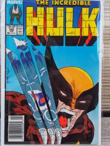 The Incredible Hulk 340 VF/NM McFarlane Wolverine Cover!