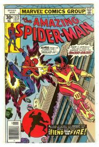 Amazing Spiderman 172   1st Rocket Racer