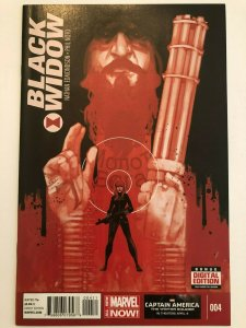 Black Widow (2014 Series) #4 Nathan Edmondson, Phil Noto NM