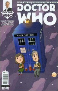 Doctor Who: The Twelfth Doctor #15C VF/NM; Titan   save on shipping - details in