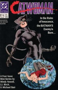 CATWOMAN (1989) 1-4  The complete 1st mini-series!