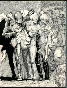 Rockets Blast & The Comic Collector #120 1975-Steve Fabian-Dr Fate-EC-MLJ-FN