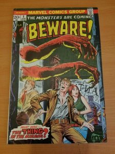 Beware #6 ~ FINE - VERY FINE VF ~ (1974, Marvel Comics)