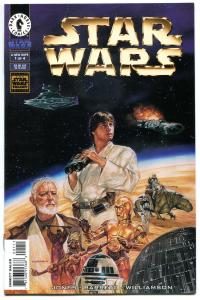 STAR WARS A New Hope #1, NM, Dave Dorman, Barreto, Luke, 1997, more SW in store