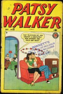 PATSY WALKER #22-1949-MARVEL-ROMANCE G/VG