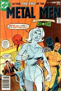 Metal Men (1963 series) #54, VG+ (Stock photo)