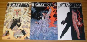the Gray Area #1-3 VF/NM complete series - john romita jr - image comics set 2