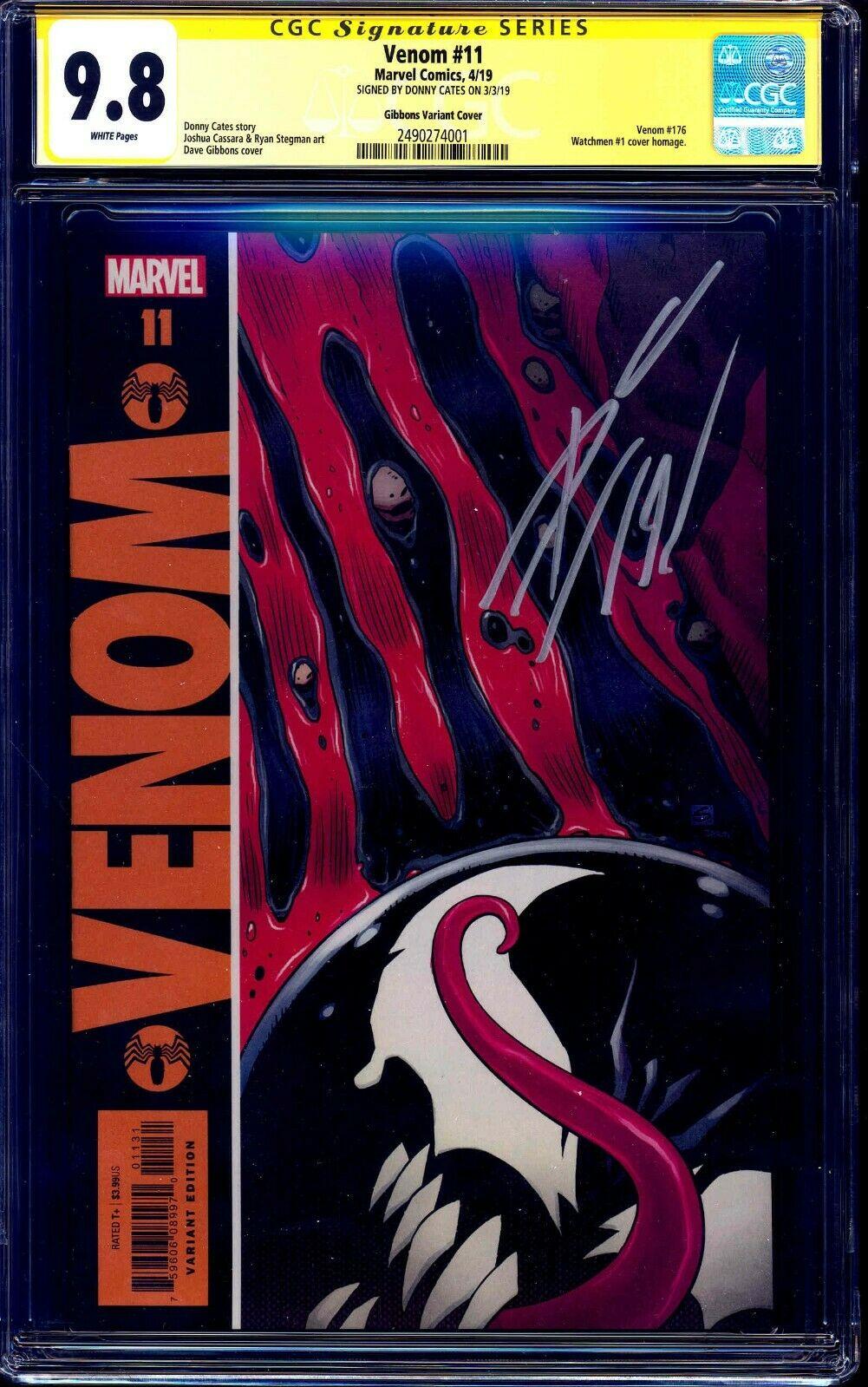 Venom #11 Gibbons Watchmen Variant Homage Cover Marvel Comics