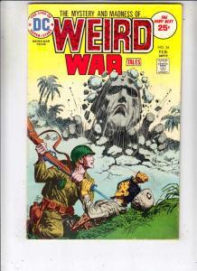 Weird War Tales #34 (Feb-75) FN Mid-Grade