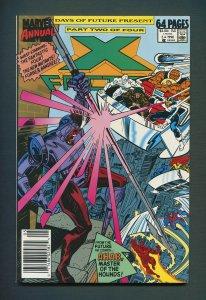 X-Factor Annual #5  /  8.0 VFN /  Newsstand / 1990