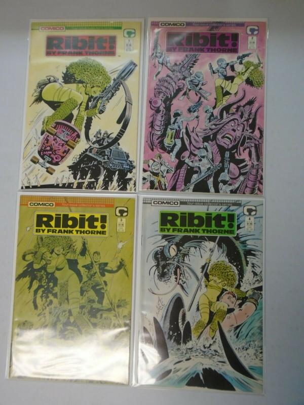Ribit Set #1-4 (1989) 8.5 VF+