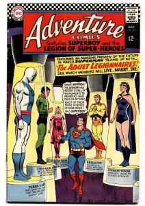 ADVENTURE COMICS #354 comic book 1967-SUPERMAN-SUPERBOY-LEGION