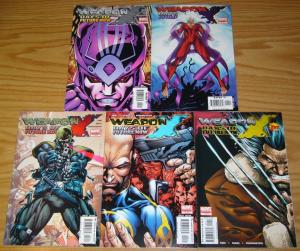 Weapon X: Days of Future Now #1-5 VF/NM complete series - wolverine - marvel set