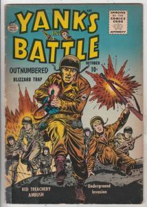 Yanks In Battle #2 (Oct-56) VG/FN Mid-Grade