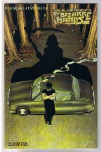 BY BIZARRE HANDS #2, NM-, Joe Lansdale, Horror, Avatar, 2004, Not From Detroit