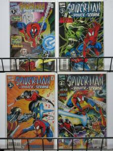SPIDERMAN POWER OF TERROR 1-4  complete series!