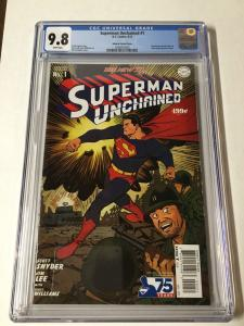 Superman Unchained 1 Johnson Variant Cgc 9.8