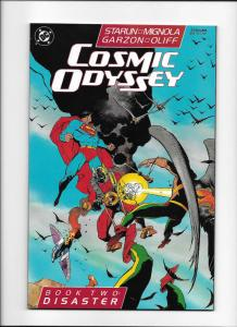 COSMIC ODYSSEY #2, NM-, DC, 1988, Mike Mignola, Jim Starlin, Orion, Superman