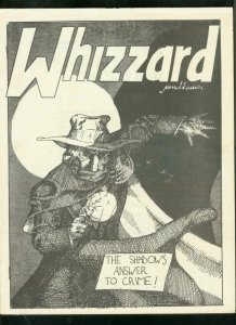 WHIZZARD FANZINE #8--1976-JAMES BAMA-SHADOW-G GLADNEY VG/FN