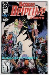 DETECTIVE #614, NM+, Batman, Alan Grant, 1990, Gotham City, more DC in store