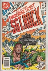Sgt. Rock #370 (Nov-82) NM- High-Grade Sgt. Rock