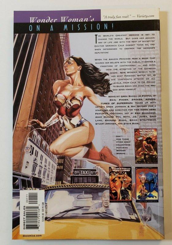 WONDER WOMAN DOWN TO EARTH TPB SOFT COVER FIRST PRINT DC COMICS VF/NM