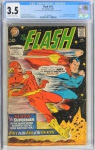 The Flash #175 (1967) CGC Graded 3.5
