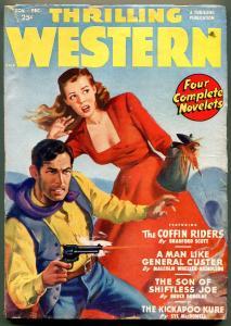Thrilling Western Pulp November 1949- Malcolm Wheeler-Nicholson VG