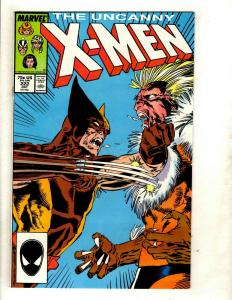 (Uncanny) X-Men # 222 VF/NM Marvel Comic Book Cyclops Beast Iceman Wolverine GK4