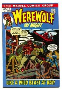 Werewolf By Night #2 comic book Marvel-Mike Ploog FN/VF