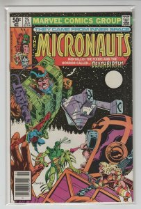 MICRONAUTS (1979 MARVEL) #25 FN+ A67819