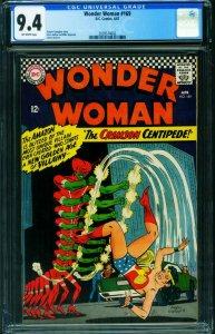 Wonder Woman #169 CGC 9.4 1967- DC Silver Age 2039574002