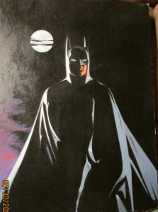 BATMAN BY MOONLIGHT PAINTING DAN ADKINS