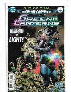 Green Lanterns #31 2016 Rebirth DC Comics NM Uncertified  nw120